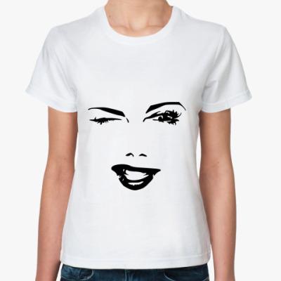 Классическая футболка Флирт