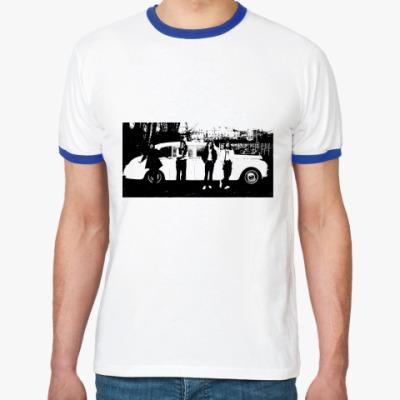 Футболка Ringer-T The Beatles