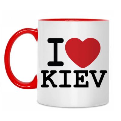 Кружка I Love Kiev