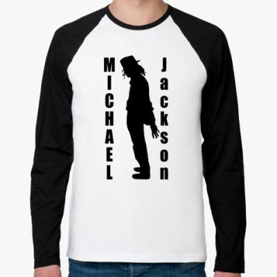 Футболка реглан с длинным рукавом Michael Jackson
