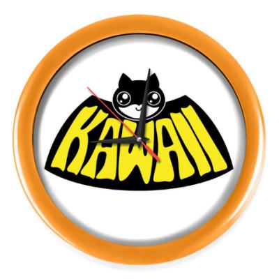 Настенные часы Kawaii Batman