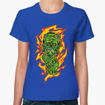 Женская футболка Franken