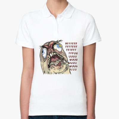 Женская рубашка поло fffuuu