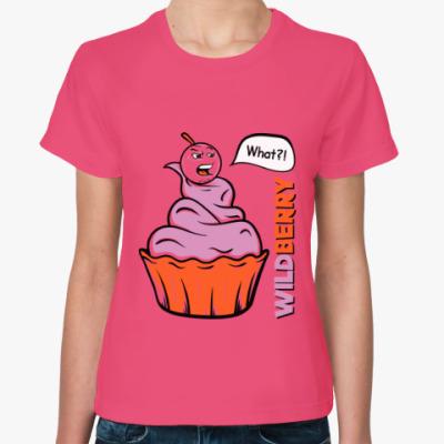 Женская футболка Wildberry
