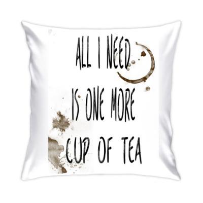 Подушка Чашка чая