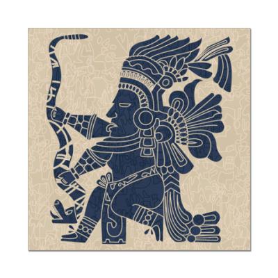 Наклейка (стикер)   Индеец