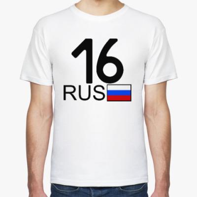 Футболка 16 RUS (A777AA)