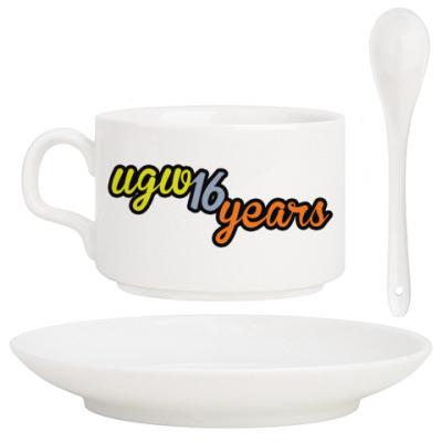 Кофейный набор 16 лет UGW