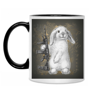 Кружка White little Bunny