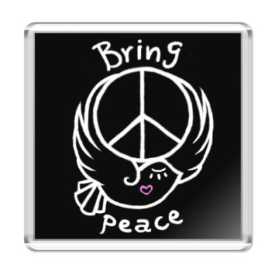 Магнит Приносите мир