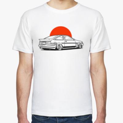 Футболка Toyota Livin AE86