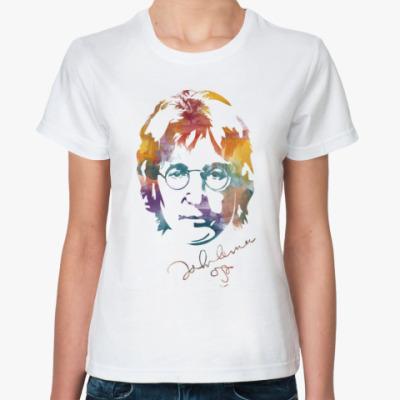 Классическая футболка The Beatles - John Lennon
