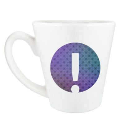 Чашка Латте Alphabet