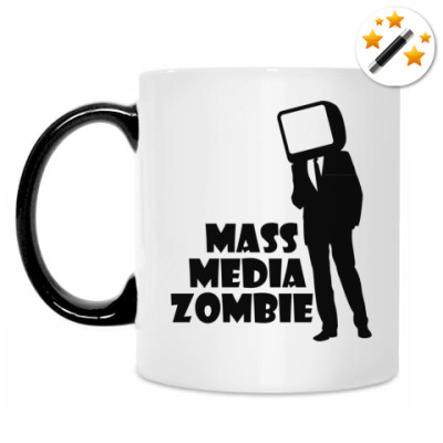 Кружка-хамелеон Зомби масс-медиа