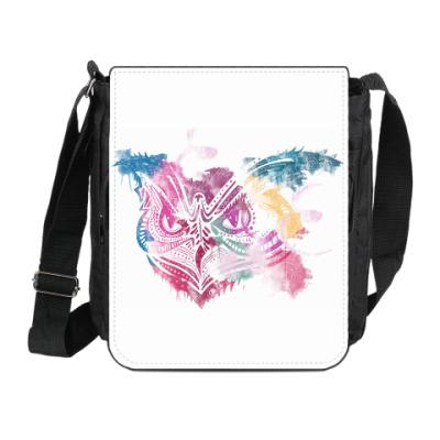 Сумка на плечо (мини-планшет) Сова - Owl