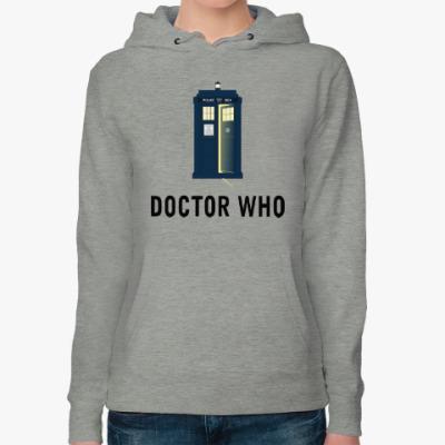 Женская толстовка худи Doctor Who