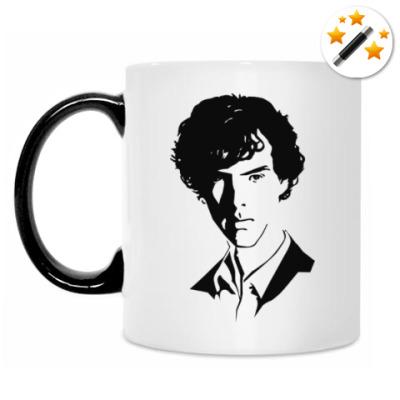 Кружка-хамелеон Sherlock Holmes