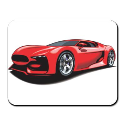 Коврик для мыши Красивый спортивный автомобиль