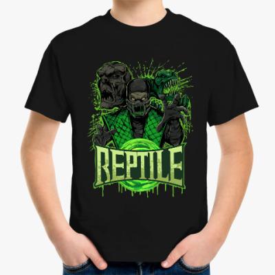 Детская футболка Reptile