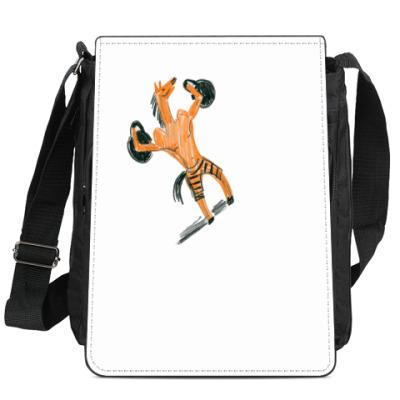 Сумка-планшет Спортивная лошадь