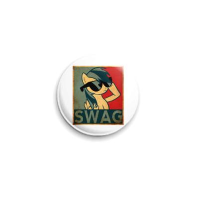 Значок 25мм SWAG