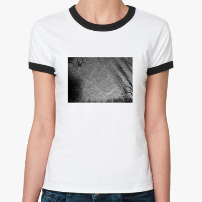 Женская футболка Ringer-T Dark Days