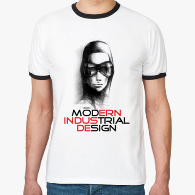 Футболка Ringer-T «Modern Industrial Design»