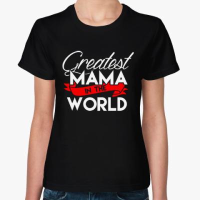 Женская футболка Лучшая мама в мире