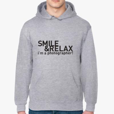 Толстовка худи Smile&Relax