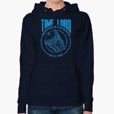 Женская толстовка худи Time Lord