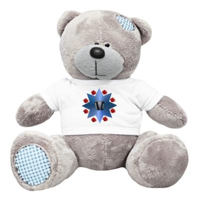 Плюшевый мишка Тедди Розы и баян