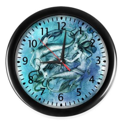 Настенные часы Русалки