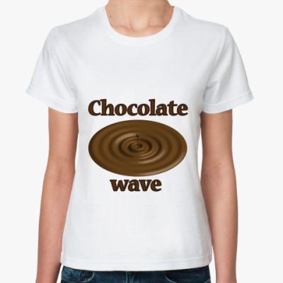Классическая футболка Chocolate wave
