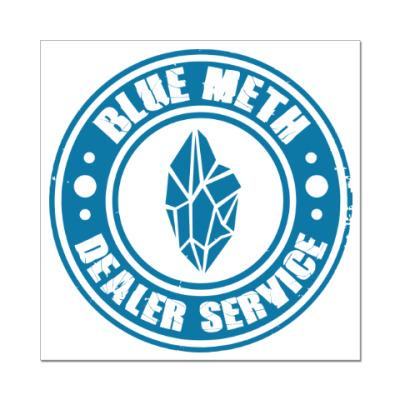 Наклейка (стикер) Blue Meth Dealer