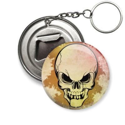 Брелок-открывашка Skull