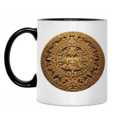Кружка ``Солнце ацтеков``