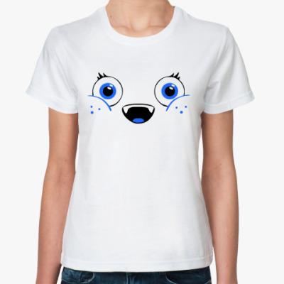 Классическая футболка мордочка