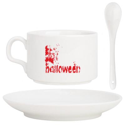 Кофейный набор Happy Halloween
