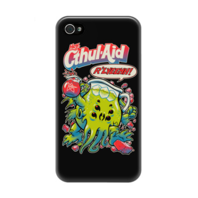 Чехол для iPhone 4/4s Ктулху Cthul-Aid