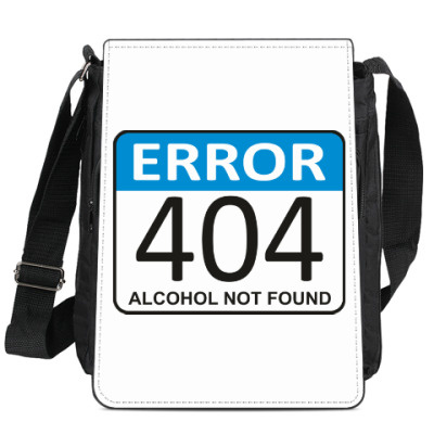 Сумка-планшет ERROR 404