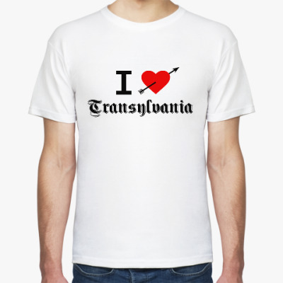 Футболка Dead Mayhem Per Yngve Ohlin I Love Transylvania