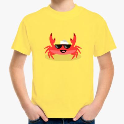 Детская футболка Капитан Краб