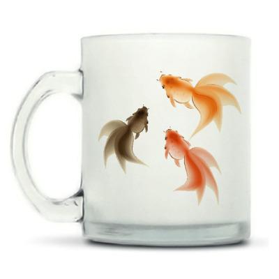 Кружка матовая Рыбки