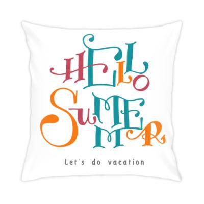 Подушка Привет, лето!