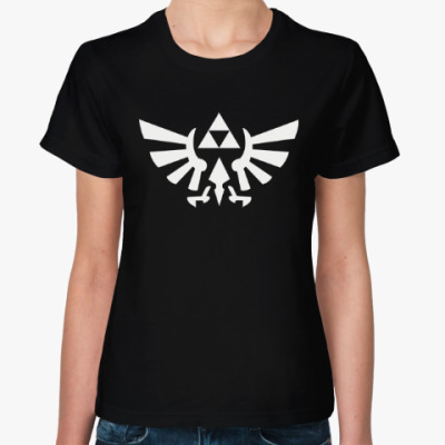 Женская футболка Triforce
