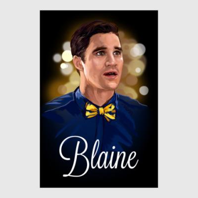 Постер Блейн Андерсон. Glee