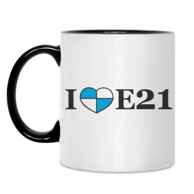 Кружка I love E21