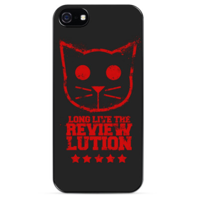 Чехол для iPhone LONG LIVE THE REVIEW LUTION