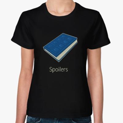 Женская футболка Spoilers