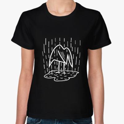 Женская футболка Одиночество